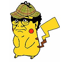 Pokemon: Danny Devito Detective Pikachu Photographic Print
