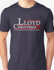 LLOYD CHRISTMAS 2016 DUMB AND DUMBER Unisex T-Shirt