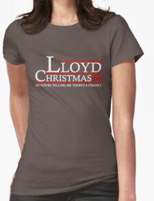 LLOYD CHRISTMAS 2016 DUMB AND DUMBER Womens Fitted T-Shirt