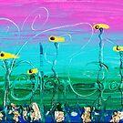 Extinction Series: Redreaming Waterlily's by WENDY BANDURSKI-MILLER