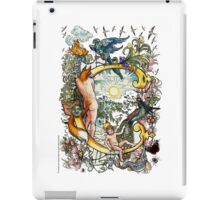 "The Illustrated Alphabet Capital  C  ""Getting personal"" iPad Case/Skin"