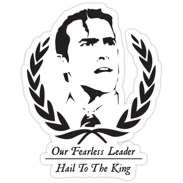 Hail To The King! by terry springett