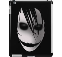Scary Blurry Face iPad Case/Skin