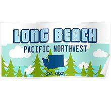Long Beach - Washington State. Poster