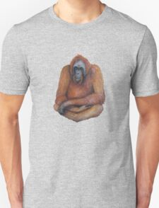 Wild Orangutan Drawing Unisex T-Shirt