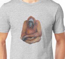 Wild Orangutan Drawing Unisex T-Shirt