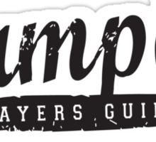 Vampire Slayers Guild - Black Sticker