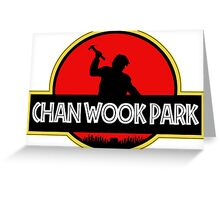 Chan Wook Park Greeting Card