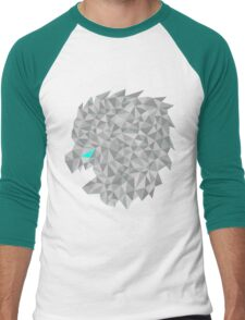 snow lion shift Men's Baseball ¾ T-Shirt