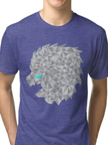snow lion shift Tri-blend T-Shirt