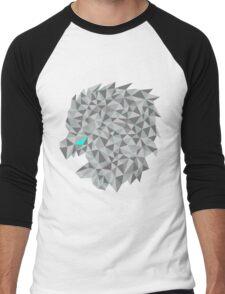 Snow lion  Men's Baseball ¾ T-Shirt