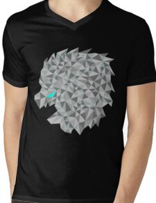 Snow lion  Mens V-Neck T-Shirt