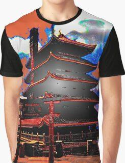 The Pagoda Graphic T-Shirt
