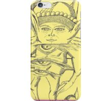 it's not da wah eye's iPhone Case/Skin