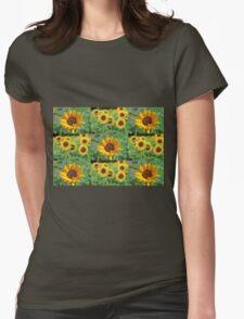 Sunflowers on a Field T-Shirt