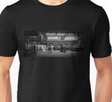 Wonder what time my train is? Unisex T-Shirt