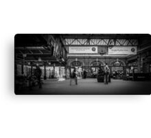 Wonder what time my train is? Canvas Print