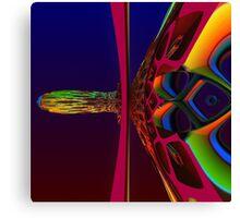 3D Fractal Image Canvas Print