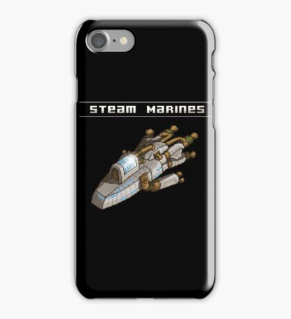 Steam Marines - I.S.S. Orion iPhone Case/Skin