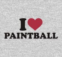 I love Paintball Kids Clothes