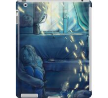 sad time happy thoughts iPad Case/Skin
