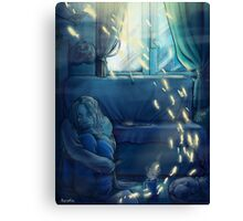sad time happy thoughts Canvas Print