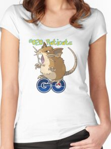 020 Raticate GO! Women's Fitted Scoop T-Shirt