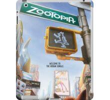 Movie Poster (Zootopia) iPad Case/Skin