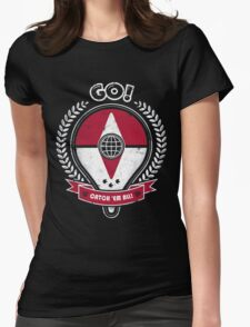 Go trainer! T-Shirt pokemon go Womens Fitted T-Shirt