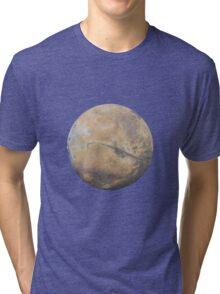 Mars Drawing Tri-blend T-Shirt