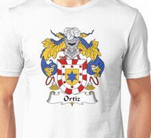Ortiz Coat of Arms/Family Crest Unisex T-Shirt