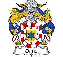 Ortiz Coat of Arms/Family Crest Photographic Print
