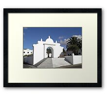 Teguise, Lanzarote Framed Print