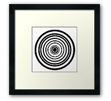 Don't Be A Square 2: The Circle Edition Framed Print