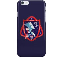 Marvel's Groot/Rocket Raccoon NASA Mission Patch iPhone Case/Skin