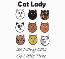 Cat Lady One Piece - Short Sleeve