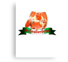 Schraderbrau Beer.  Canvas Print