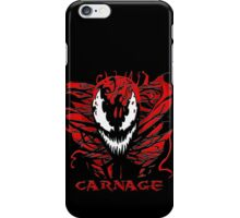 Carnage Primed iPhone Case/Skin