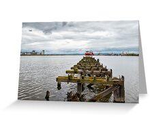 Ocean Terminal in Leith Greeting Card