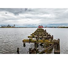 Ocean Terminal in Leith Photographic Print