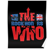 the rock on rs who Poster