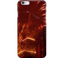 Paris on fire iPhone Case/Skin