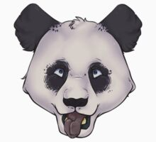 Crazy panda Kids Tee