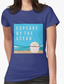 Cup - Cake by the Ocean Womens Fitted T-Shirt