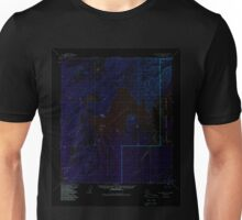 USGS TOPO Map Alaska AK Mount McKinley D-5 357887 1953 63360 Inverted Unisex T-Shirt