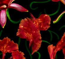 Sweet Red Garden Sticker