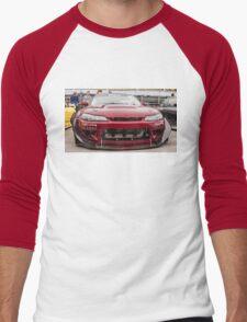 Nissan S15 Silvia - Drift Car (front) Men's Baseball ¾ T-Shirt