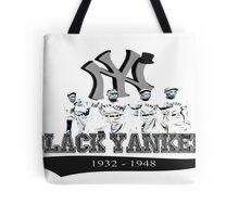 New York Black Yankees Tote Bag