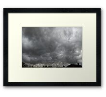 mean and moody Framed Print