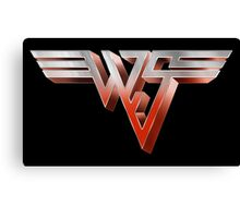 BILL AND TED - WYLD STALLYNS LOGO (VAN HALEN) Canvas Print